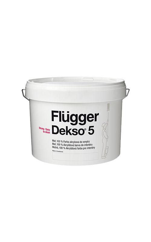 Flügger Dekso 5 akrylátová farba 0
