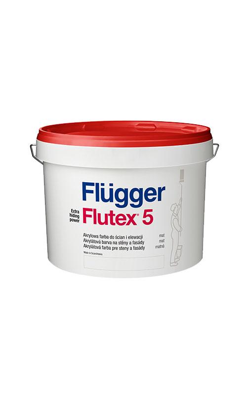 Flügger Flutex 5 aktrylátová farba 0