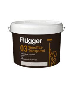 Flügger 03 Wood Tex polo transparentný lazúrovací lak 2