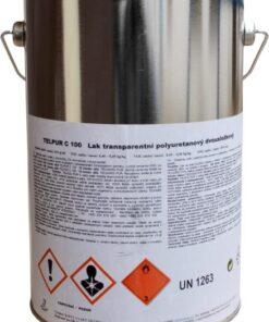 TELPUR C100 - polyuretánový dvojzložkový lak matný 2