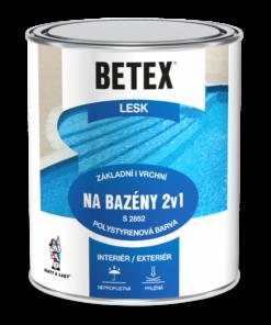 BETEX 2V1 NA BAZENY S 2852 - farba na bazény 4 kg 0440 - tmavo modrá