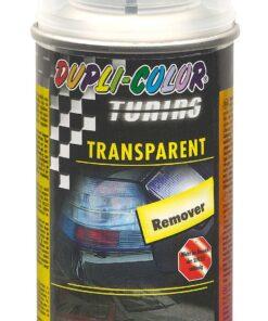 Odstraňovač Tuning transparent spreju  150 ml odstraňovač bezfarebný