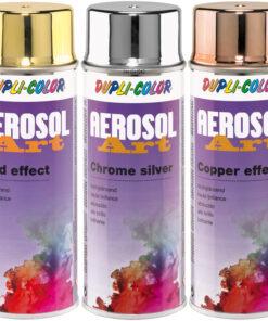 Aerosol-Art efekt - chrómový