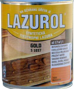 LAZUROL GOLD S 1037 - hrubovrstvá lazúra na drevo 2