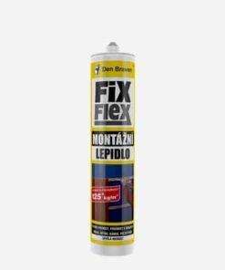 Montážne lepidlo FIX FLEX biela 310 ml