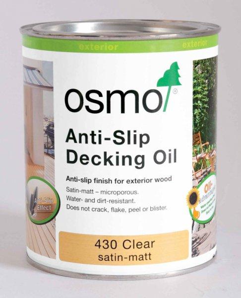 OSMO Terasový olej 430 - protišmykový olej na terasu 25 l 430 - bezfarebný