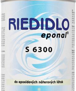Riedidlo S 6300 - do epoxidových náterových hmôt 10 l