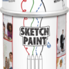 MAGPAINT Sketchpaint popisovateľná farba biela Biela matná
