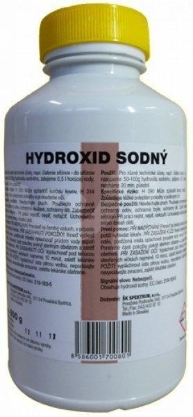 ŠK SPEKTRUM Hydroxid sodný 500g