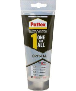 Pattex One For All Crystal - montážne lepidlo a tmel v jednom 90 g
