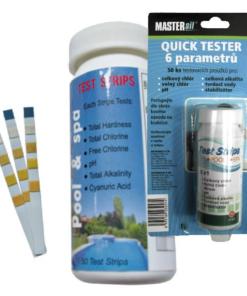 MASTERsil Quick tester papieriky 6 parametrov