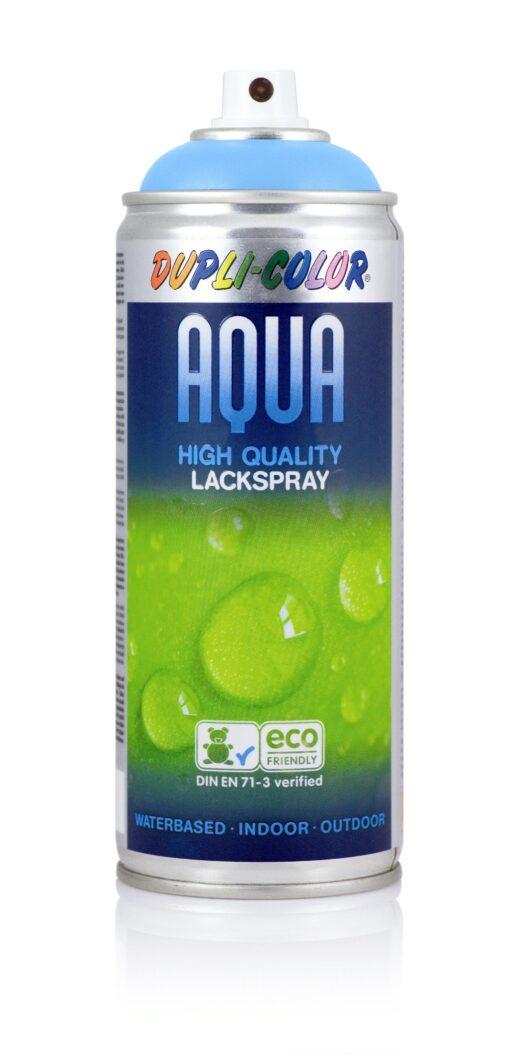 DUPLI COLOR Aqua Lak RAL9010 lesklá