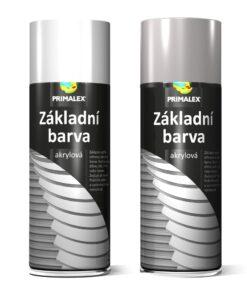 Primalex  - základná farba v spreji 400 ml sivý