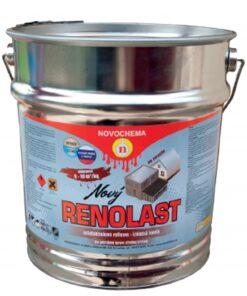 Renolast nový - asfaltohliníková farba na strechu 9110 - strieborná 7 kg
