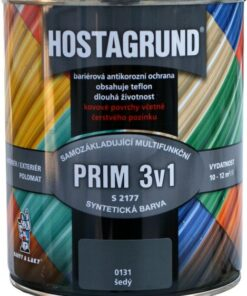 HOSTAGRUND PRIM 3v1- mutifunkčná základná i vrchná farba 9 l 0570 - zelená