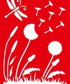 MEYCO HOBBY - Šablóny pre rôzne techniky 20 x 31 cm kvety3
