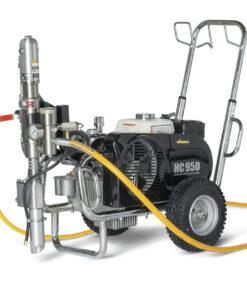 HeavyCoat 970 benzínový pohon  - Hydraulické piestové zariadenie - Vozík striekacie zariadenie vozík