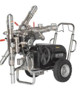 HeavyCoat 950 elektrický pohon - Hydraulické piestové zariadenie - Vozík striekacie zariadenie vozík