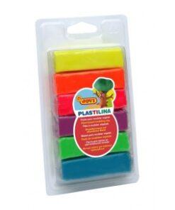 JOVI Plastelína hranolky - balenie neónových farieb 6x25 g