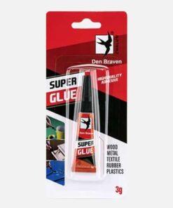 Super Glue - Sekundové lepidlo 3 g transparentná