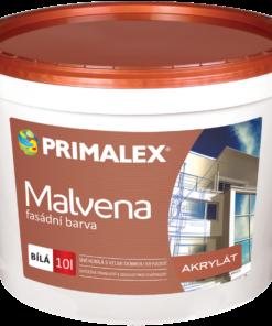 Primalex Malvena - fasádna akrylátová farba biela 10 l