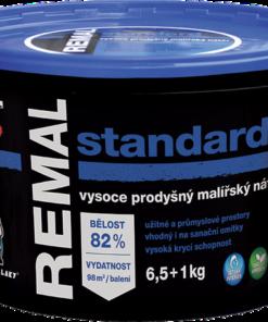 REMAL STANDARD - interiérová farba biela 4 kg
