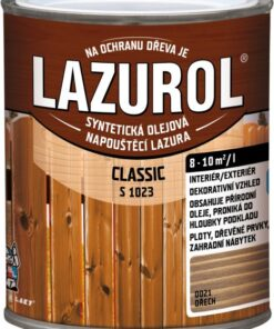 LAZUROL Classic S 1023 - lazúra na drevo 4 l 60 - pínia