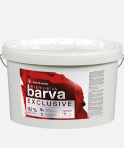 Interiérová farba super biela - Exclusive Den Braven biela 15 kg
