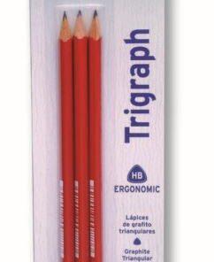 JOVI Trojhranné ceruzky - blister 3ks tenké HB balenie