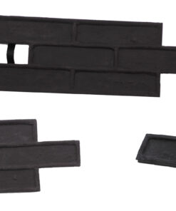 STAMP® Tehla Classic SET2 -  4 profesionálne raznice na výrobu obkladu 4 ks tc0