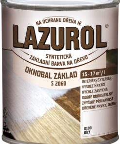 LAZUROL - S 2060 OKNOBAL ZAKLAD - základná farba na okná biela 0