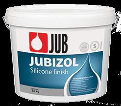 JUBIZOL Silicone finish T - silikónová škrabaná dekoratívna omietka 25 kg zr. 2mm - miešanie