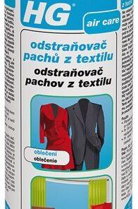 HG Odstraňovač pachov z textilu 400 ml 429