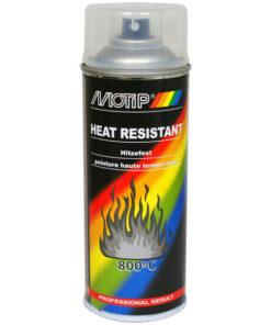 MOTIP AUTO - Žiaruvzdorný lak šedý 400 ml