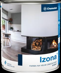 IZONA - Farba na veľmi znečistené steny 6 kg 0100 - biela
