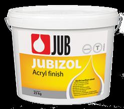 JUBIZOL Acryl finish T - akrylátová dekoratívna škrabaná omietka 25 kg zr. 2