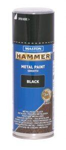 Maston Hammer sprej - hladká farba na kov v spreji hnedá 400 ml