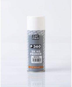 Sprej Body 2K primer 360 - vyrovnávajúca hmota cierny 400 ml