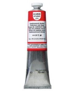 LUKAS Olejové farby STUDIO - Umelecká olejová farba 37 ml alizarin crimson 2660009