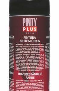 Pinty Plus Tech - vysokoteplotný email  400 ml strieborný