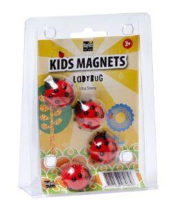 Lienka magnet - ultra silný magnet sada 4 ks