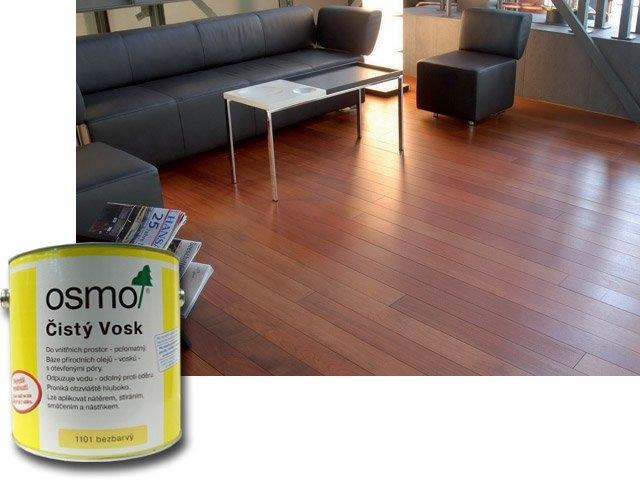 OSMO Čistý vosk - prírodný vosk na drevo 10 l 1101 - bezfarebný
