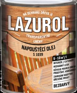 LAZUROL - NAPÚŠŤACÍ Olej - S 1039 0