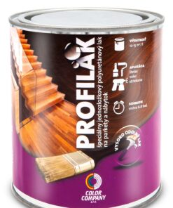 PROFILAK lak na drevené podlahy bezfarebný matný 5 l