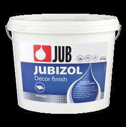 JUBIZOL Decor finish - dekoratívna fasádna hmota 25 kg zr. 1mm - biely