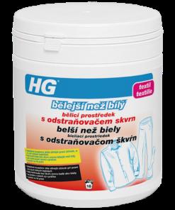 HG Belší než biely - bieliaci prostriedok s odstraňovač škvŕn 400 g