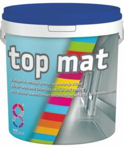 Top Mat - bezfarebný matný náter na sokel 5 l transparentná