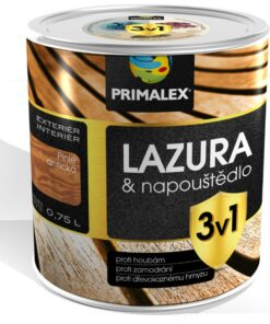 Primalex lazúra 3v1 - lazúra a napúštadlo proti škodcom a hubám 5 l mahagón americký