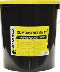 Gumoasfalt SA 12 - asfaltová farba na plochú strechu cierna 5 kg