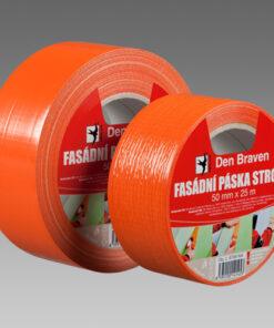 Fasádna páska Strong oranžová 50x50 m